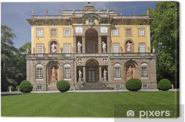 Leinwandbild Die Villa Torrigiani in der Toskana - Europa