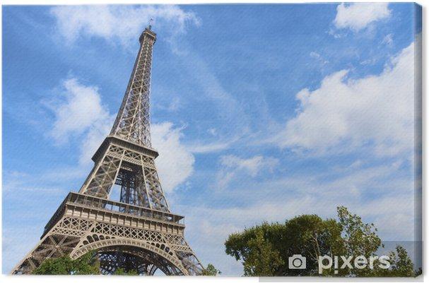 Leinwandbild Eiffelturm - Europäische Städte