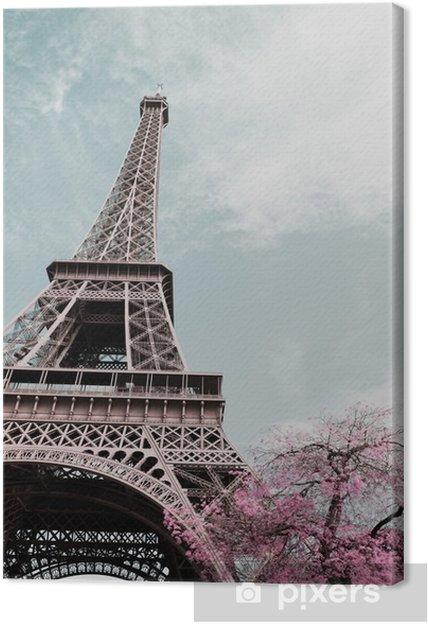 Leinwandbild Eiffelturm - Reisen