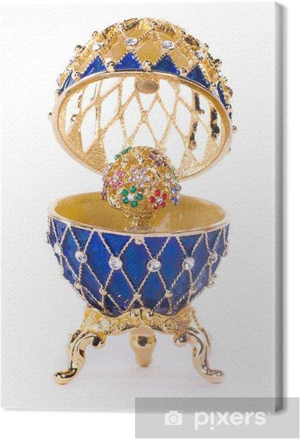 Leinwandbild Faberge Ei. - Fashion