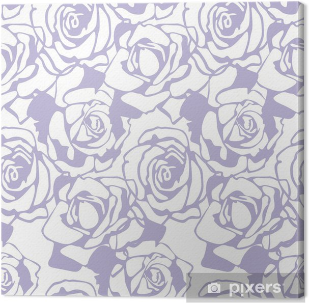 Leinwandbild Floral vector Textur - Feste