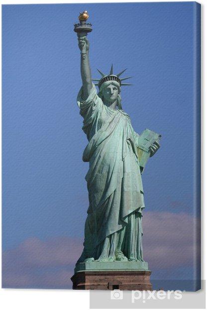 Leinwandbild Freiheitsstatue auf dem Stand - Amerika
