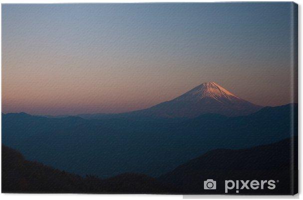 Leinwandbild Fuji von Kushigatayama - Berge