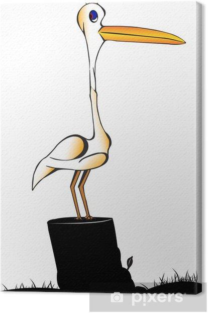 Leinwandbild Garca - Vögel