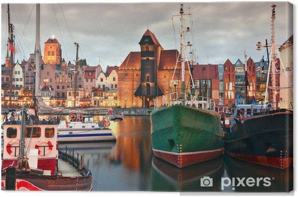 Leinwandbild Gdansk - iStaging
