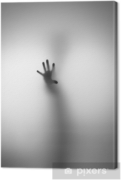 Leinwandbild Geister Hand - Sonstige Gefühle