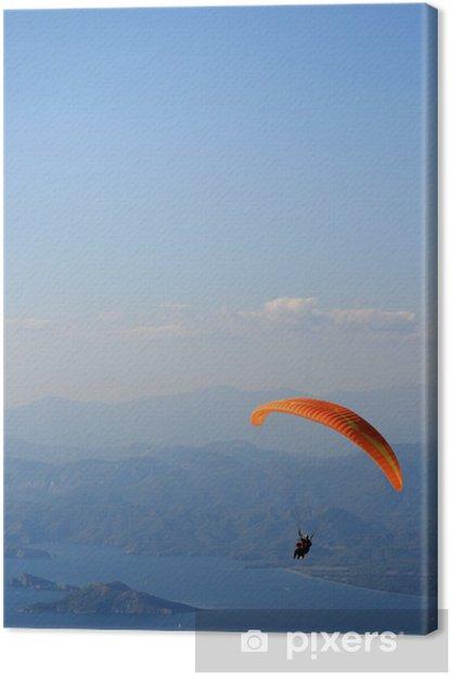 Leinwandbild Gleitschirmfliegen in Ölüdeniz - Extremsport