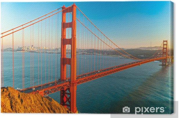 Leinwandbild Golden Gate Bridge, San Francisco - Nordamerika