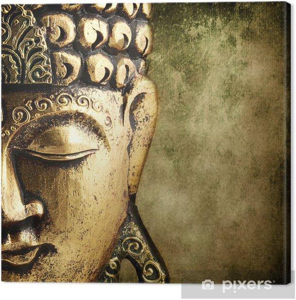 Leinwandbild Goldener buddha - Stile