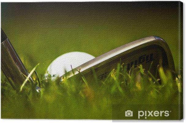 Leinwandbild Golf - Themen