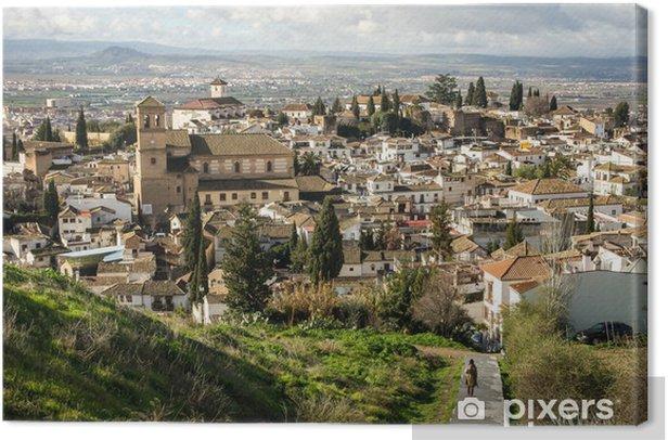 Leinwandbild Granada - Europa