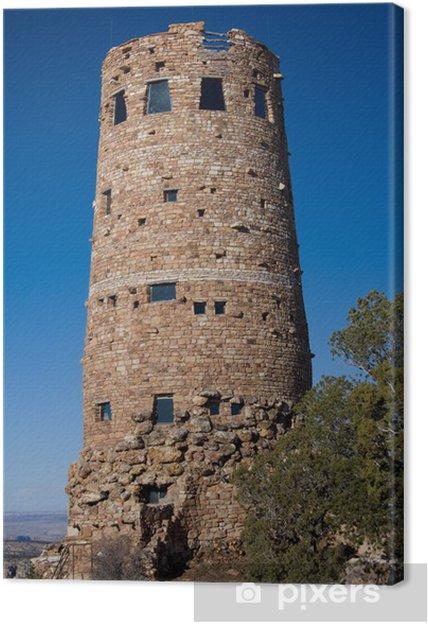 Leinwandbild Grand Canyon Desert View Watchtower Pixers Wir