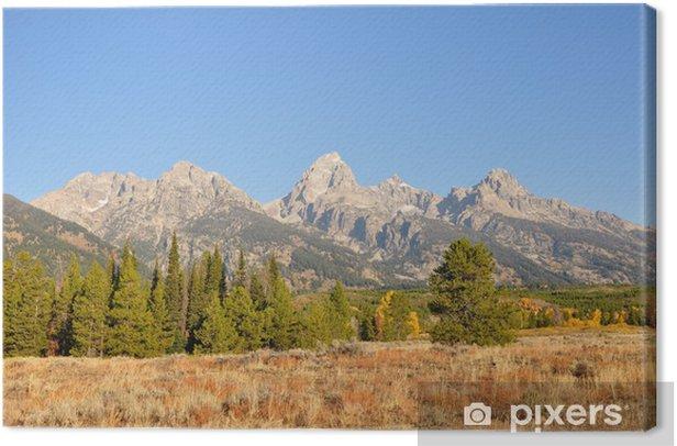 Leinwandbild Grand-Teton-Nationalpark - Amerika