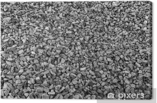 Leinwandbild Granit - Schwerindustrie