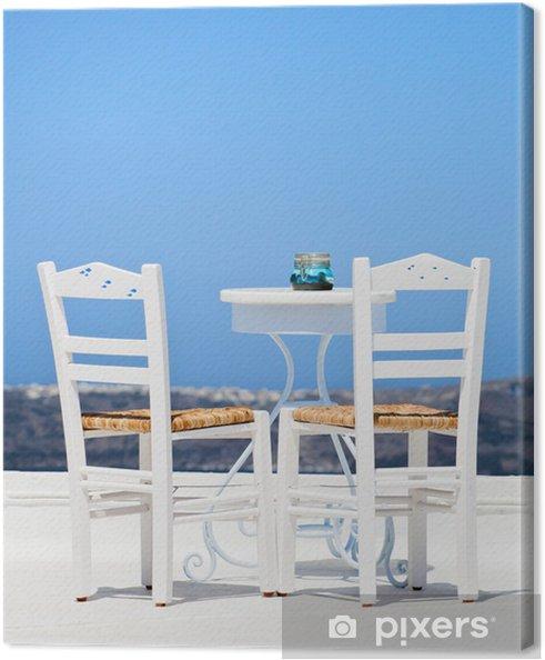 Leinwandbild Griechische decor - Europa