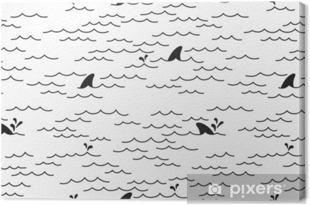 delfin muster schwarz weiß