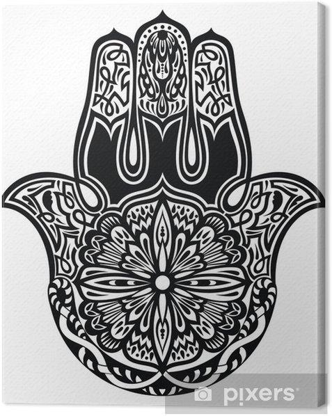 Leinwandbild Hamsa Hand - Religion