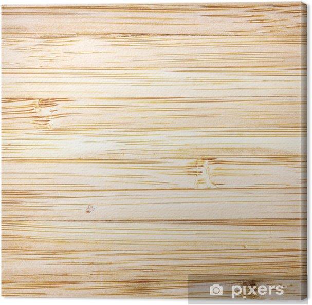 Leinwandbild Helles Holz Textur Oder Hintergrund Pixers Wir