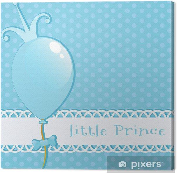 Leinwandbild Hintergrund kleine Prinz - Hintergründe