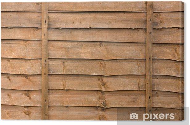 Leinwandbild Holzzaun Panel - Hintergründe