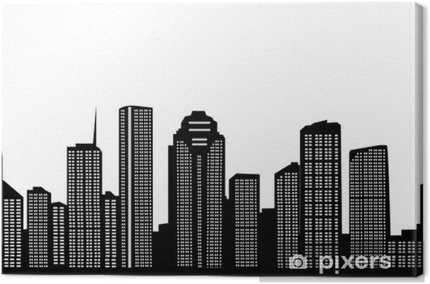 Leinwandbild Houston Skyline - Sonstige