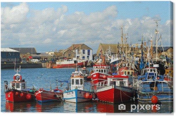 Leinwandbild Howht Harbour, Irland, Dublin - Themen