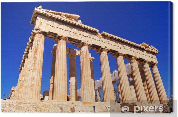 Leinwandbild Iconic Athens Wahrzeichen Der Parthenon, Griechenland - Themen