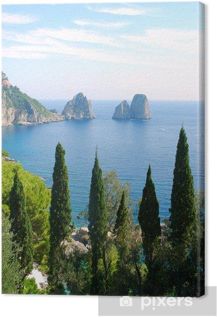 Leinwandbild Insel Capri - Europa