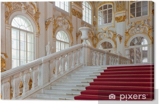 Leinwandbild Interior of Winter Palace - Öffentliche Gebäude