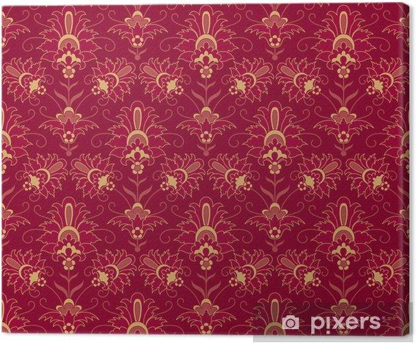 Leinwandbild Jahrgang ornamentalen Hintergrund - Themen