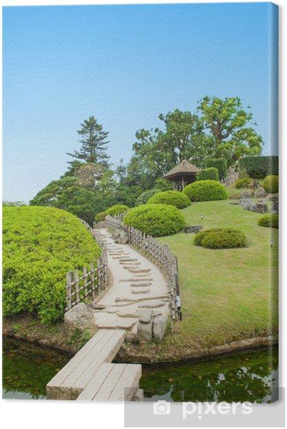 Leinwandbild Japanese garden - Asien