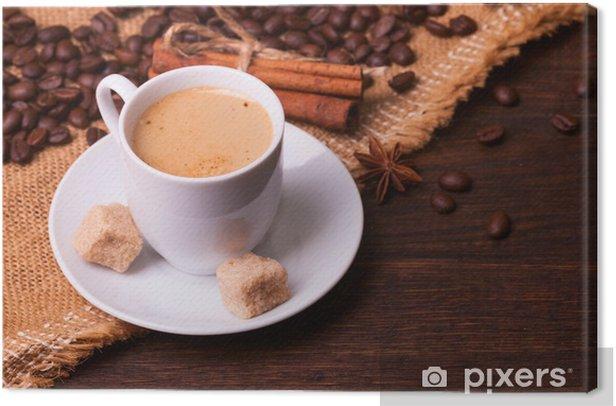 Leinwandbild Kaffee - Themen