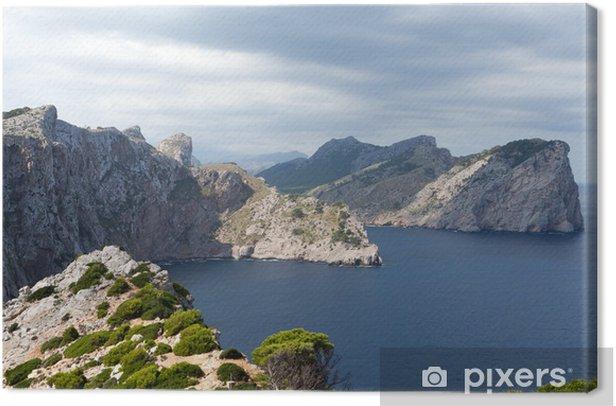 Leinwandbild Kap Formentor auf Mallorca, Balearen Insel, Spanien - Europa