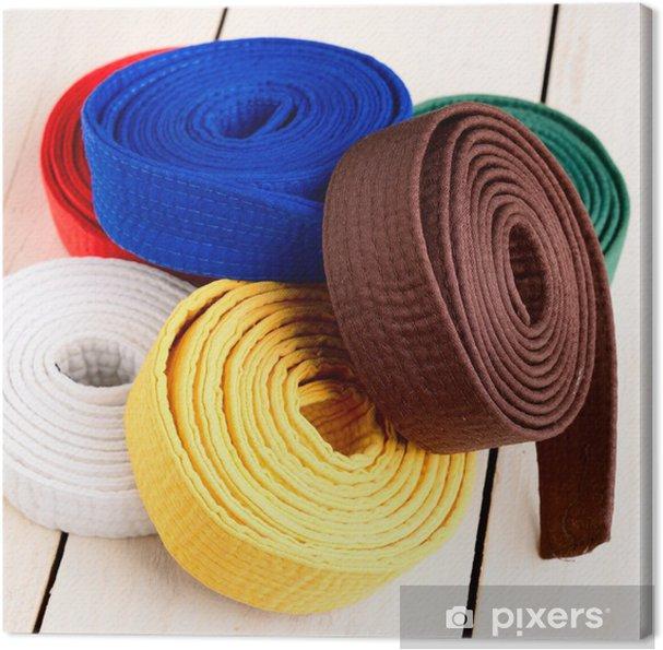Leinwandbild Karate - Sportartikel