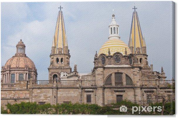 Leinwandbild Kathedrale Von Guadalajara Jalisco Mexiko Pixers