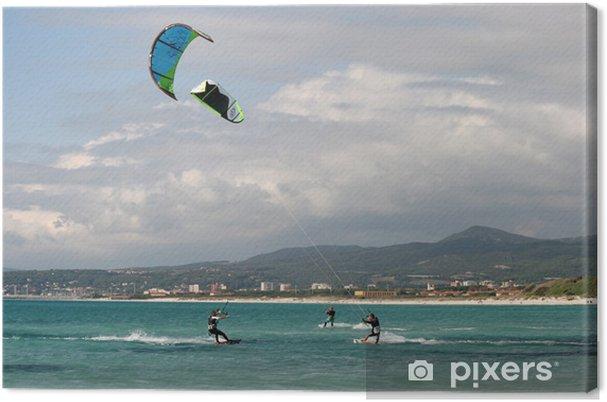 Leinwandbild Kitesurf - Wassersport