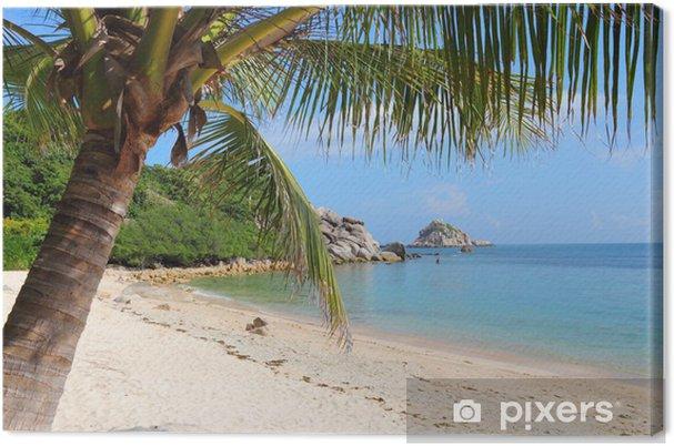 Leinwandbild Koh Tao Insel in Thailand - Asien