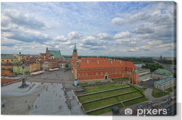 Leinwandbild Königsschloss Warschau - Themen