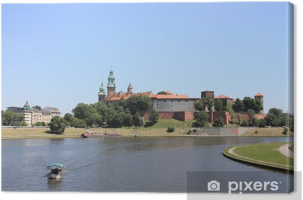 Leinwandbild Krakau: Wawel, Polen - Europa