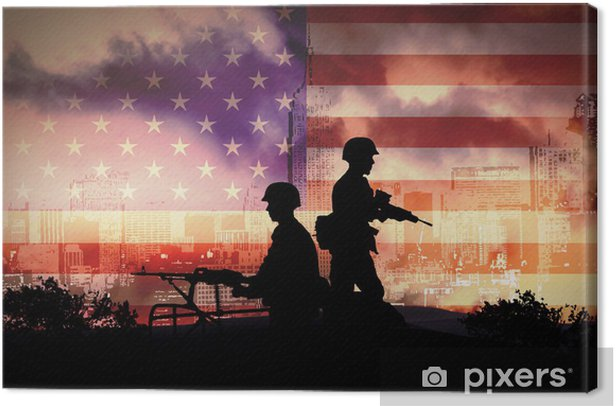 Leinwandbild Krieg - Berufe
