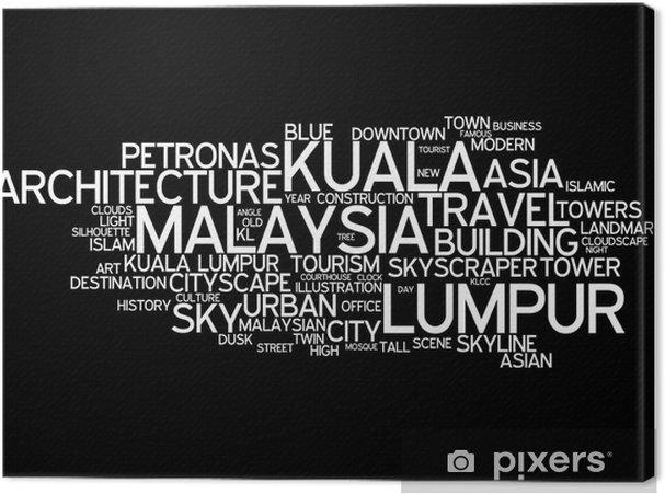 Leinwandbild Kuala Lumpur (Malaysia) - Asien