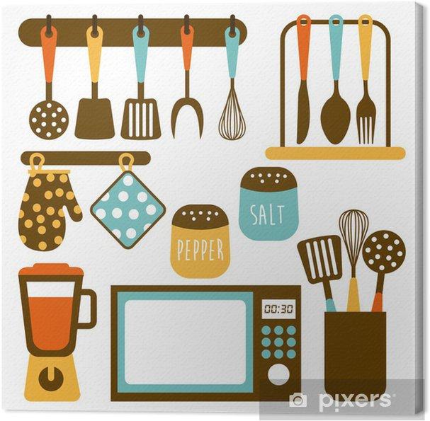 Leinwandbild Küche Design • Pixers® - Wir leben, um zu verändern