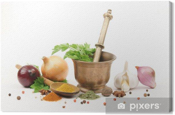 Leinwandbild Küche - épices et Aromaten