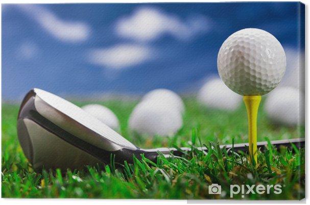 Leinwandbild Lassen Sie uns spielen Golf! - Themen