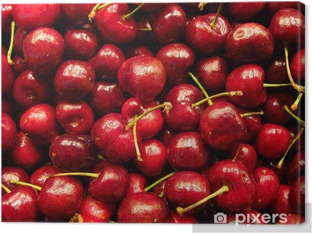 Leinwandbild Le temps des cerises - Früchte