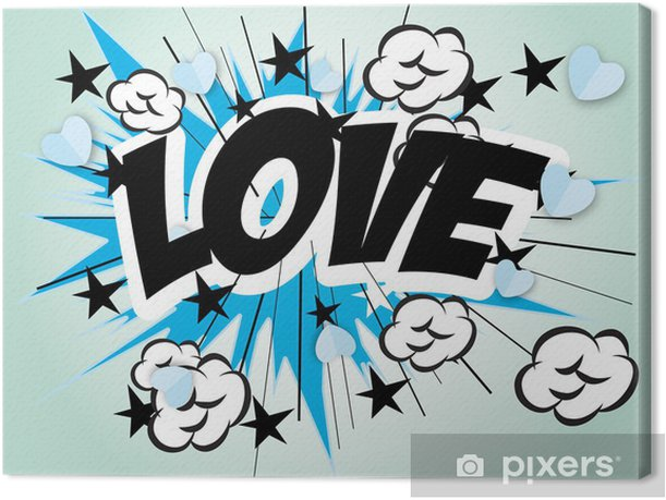 Leinwandbild Liebe - Themen