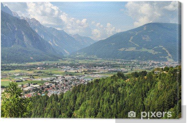 Leinwandbild Lienz, Österreich - Berge