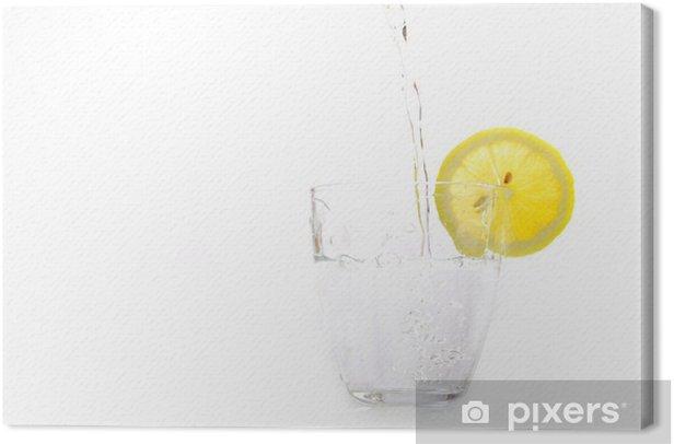 Leinwandbild Limonade - Gerichte