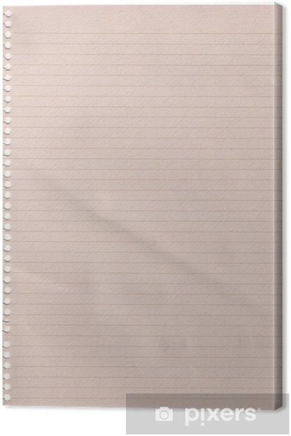 Leinwandbild Linie Papier - Texturen