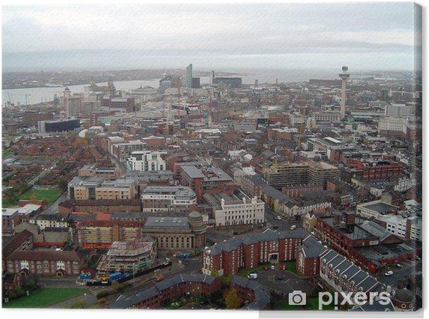 Leinwandbild Liverpool - Europa